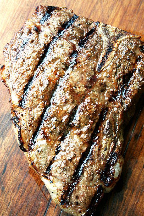 Dead Easy Steak Marinade (http://www.alexandracooks.com/2012/05/16/dead-easy-steak-marinade/)