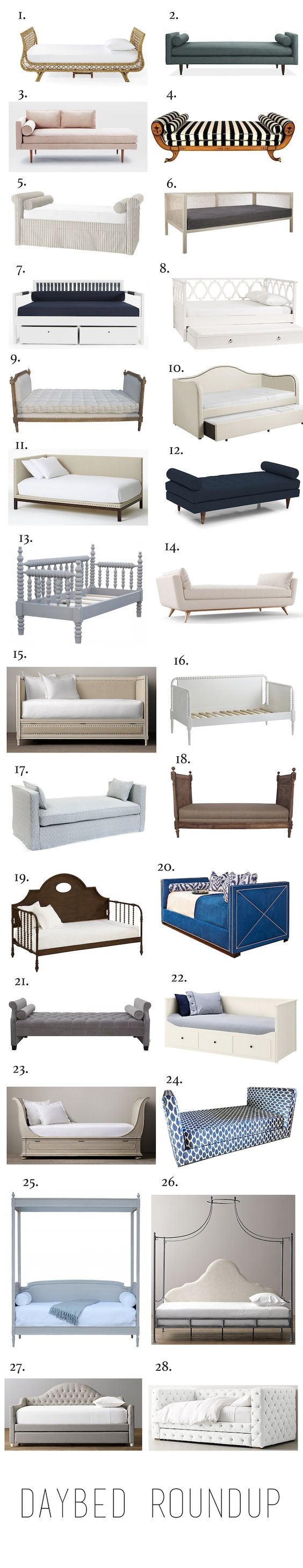 Elements of Style Blog | Daybed Roundup | http://www.elementsofstyleblog.com