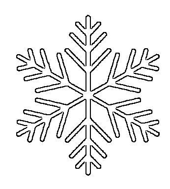 Free Printable Snowflake Templates u2013 Large \ Small Stencil - snowflake template