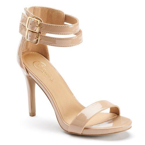 Candies Nude Heels | Candies, Ankle heels and Nude