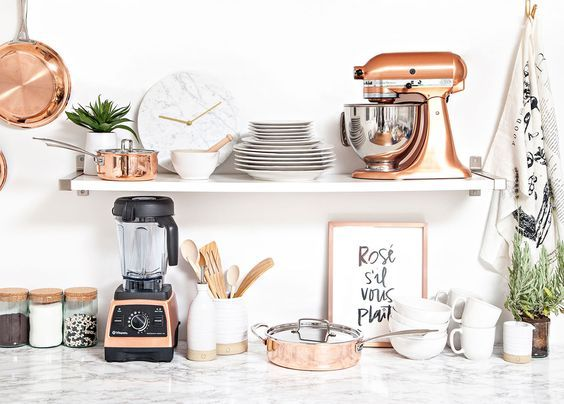 Currently Craving Copper Kitchen Accessories Rose Gold Kitchen Gold Kitchen Copper Kitchen Accessories