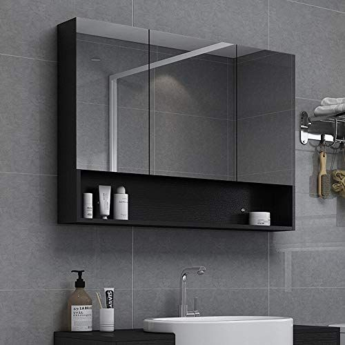 Bathroom Mirror Cabinet Mirrored Cabinet Wall Mirror Cabinet Wall Mounted Bathroom Mirror Led Illumina In 2020 Mirror Cabinets Bathroom Mirror Bathroom Mirror Cabinet