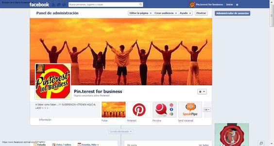 Haz click en la imagen y accede a mi  Pin.Terest para Negocios desde FACEBOOK .