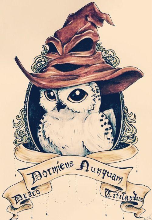 Image Result For Harry Potter Hippogriff Tattoo Harry Hippogriff Image Potter Re Eule Tattoo Design Eulen Tatowierungen Harry Potter Bildschirmhintergrund