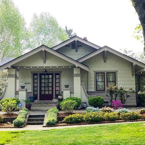 House Color Craftsman Bungalow Exterior Bungalow Exterior Cottage Exterior