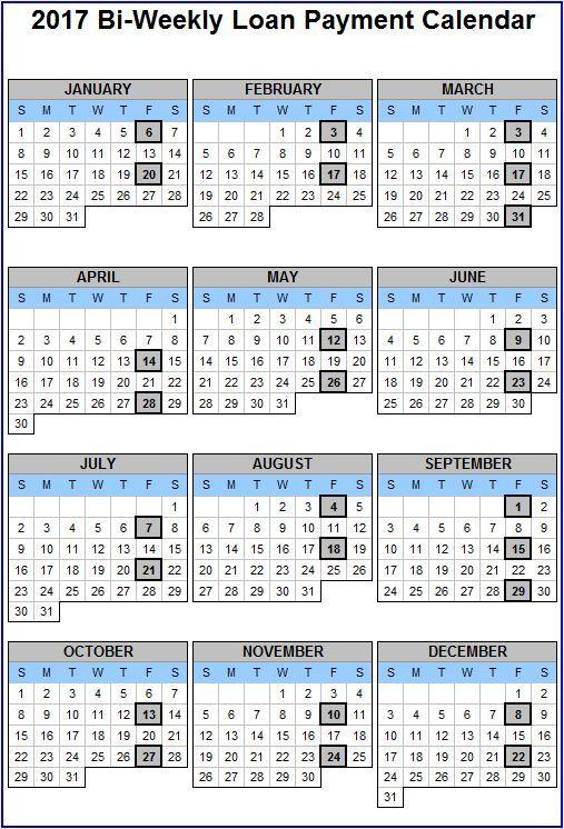 Bi Weekly Pay Calendar Payroll Calendar Bi Weekly Pay Payroll