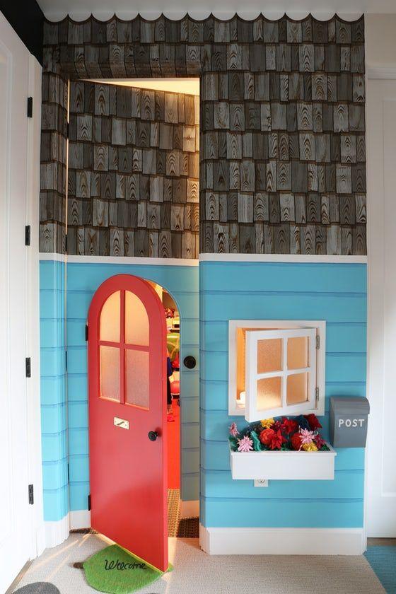 Los Altos Hills Playroom Craftsman Cottage By Greenblott Design