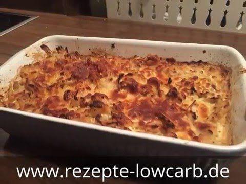 Low Carb Blumenkohlgratin - rezepte-lowcarb.de