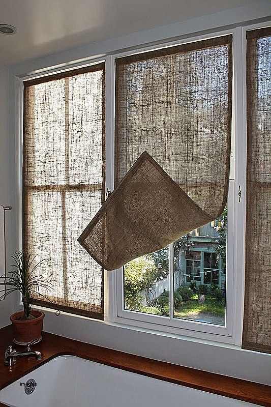 Image Result For Industrial Chic Curtains Kitchen Window Coverings Window Coverings Diy Farmhouse Window Treatments