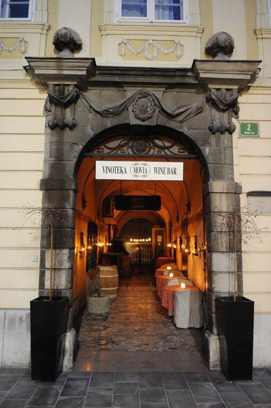 MOVIA VINOTEKA - Ljubljana, SLOVENIA