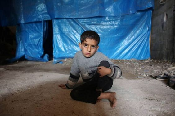 @greatkhankpk: My name is Ahmed.... this is my new house. #SpeakUp4SyrianChildren #Syria #AssadWarCrimes