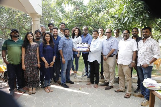 Actress Taapsee at Game Over Movie Pooja