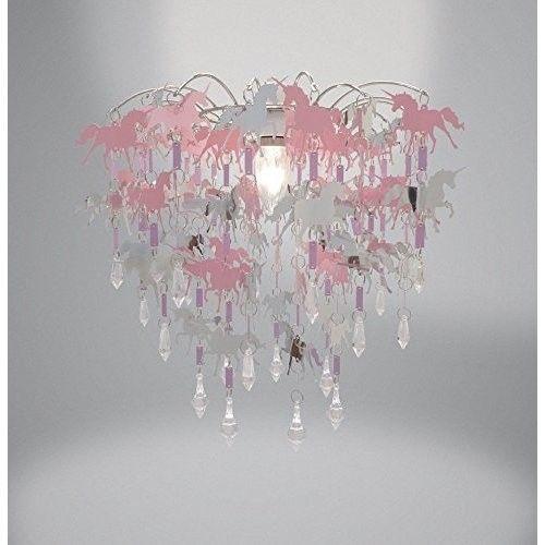 Unicorn Ceiling Light Shade Kids Childrens Bedroom Nursery
