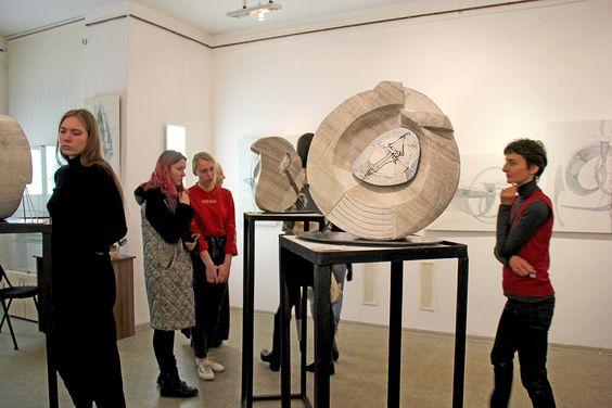 Открытие выставки Петра Торопова в Доме художника. Фото Жени Шведы