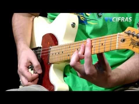 ▶ Lenny Kravitz - Fly Away (aula guitarra) - YouTube Guitar lesson