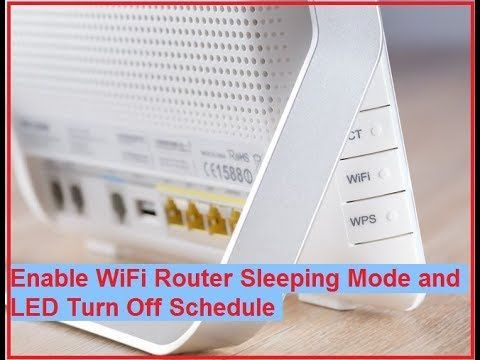 Malware to Turn WiFi Router LED Lights