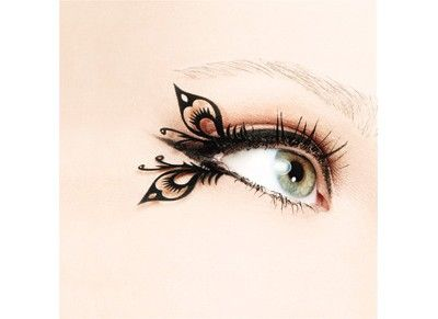Butterfly lashes by Ve Neill. Yes they were also seen on the Hunger Games.