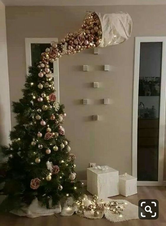 73 Cheap And Easy Diy Christmas Decor Ideas That Proves Elegance Is Not Expensive Hike N Dip Funny Christmas Tree Alternative Christmas Tree Christmas Tree Ornaments