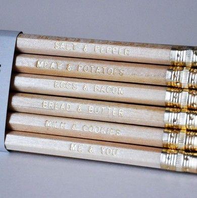 we go together pencil set