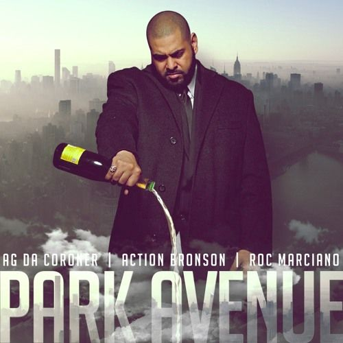 """New post on Getmybuzzup- AG Da Coroner Feat. Action Bronson & Roc Marciano – """"Park Avenue"""" [Audio]- http://getmybuzzup.com/?p=587097- #ActionBronson, #AGDaCoroner, #Audio, #ParkAvenue, #RocMarcianoPlease Share"""
