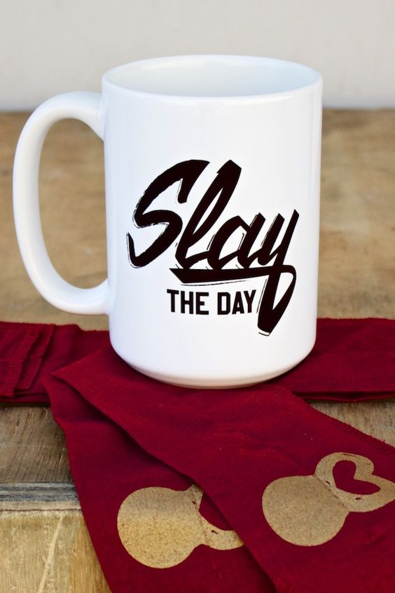 Slay All Day - Coffee Mug