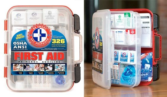 Top 10 Best First Aid Kit For Workspace In Review Best First Aid Kit First Aid Kit First Aid