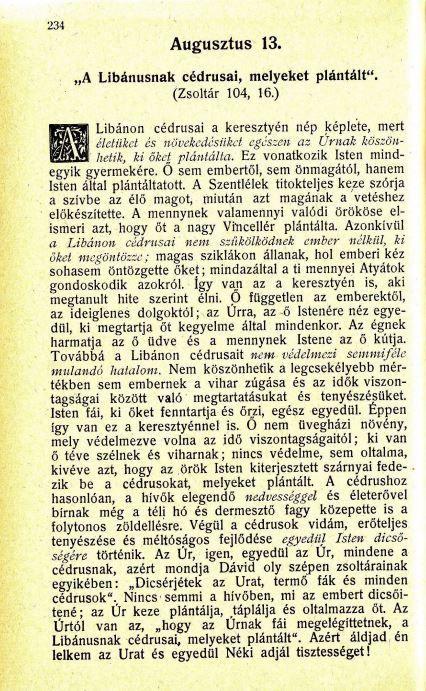 08.13 Spurgeon: Harmatgyöngyök...