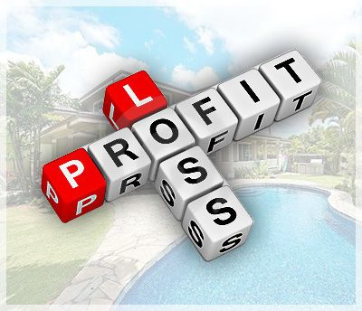 A profit and loss statement is basically a list of rent income and - profit & loss template free