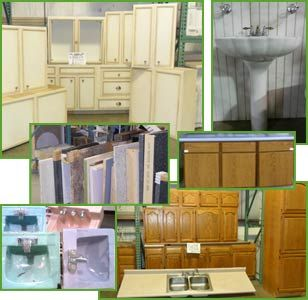 Recycled Kitchen and bath, building materials