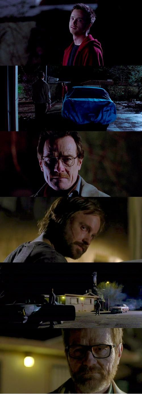 Beginning & end, Breaking Bad. This makes me ridiculously sad.