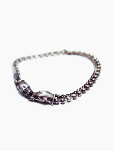 Show your wild side with a CEDAR PANTHER BRACELET.  Sterling Silver - $315.00