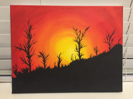 Acrylic Sunset