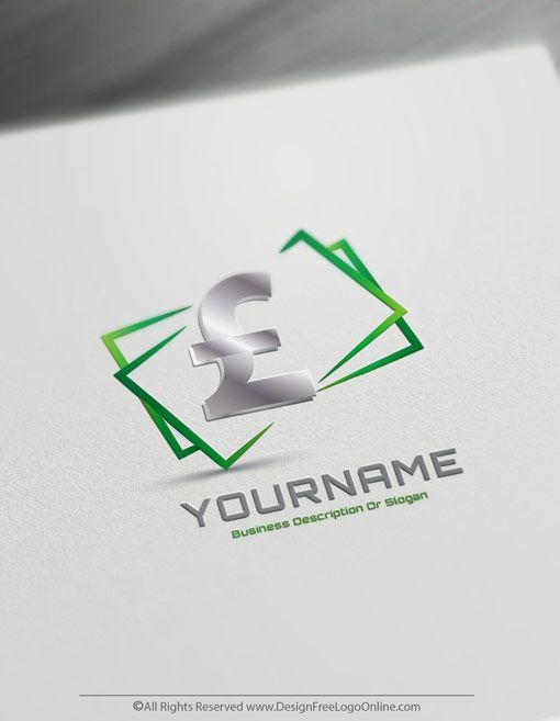 Free Online Money Logo Maker Money Currency Symbol Money Logo Online Logo Design Business Logo Design