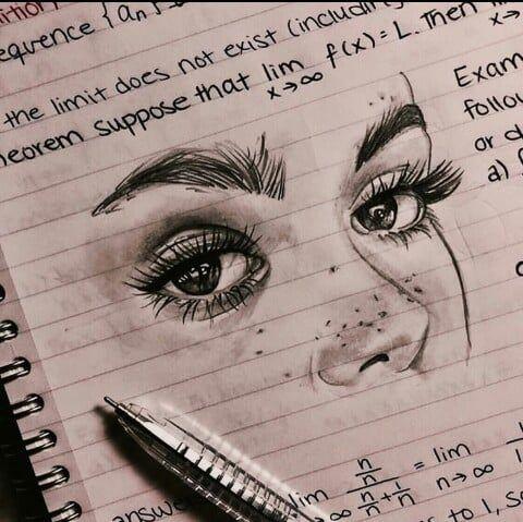 Aesthetic Art Grunge Beauty Vintage Drawing Inspiration Girl Eyes Https Weheartit Com Entry 32 Art Drawings Sketches Art Sketches Aesthetic Drawing