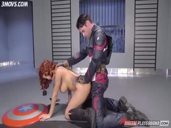 Captain America Ft Black Widow Viuda Negra Verdades Partes De