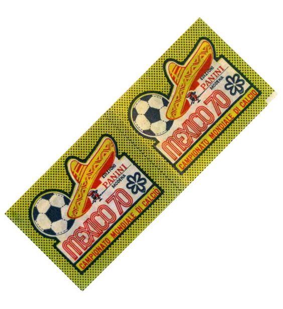 Panini Mexico 70 Doppel-Tüte Italien