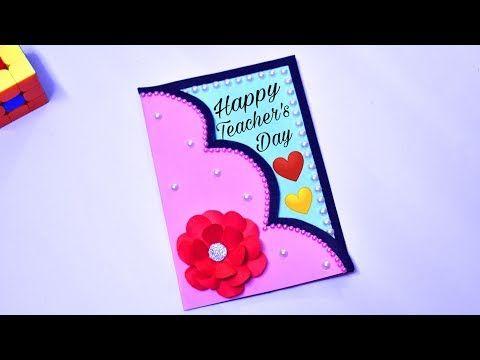 2019 Diy Teacher S Day Card Handmade Gift For Teacher Teachers Special Youtub Happy Teachers Day Card Teachers Day Greeting Card Teachers Day Card Design