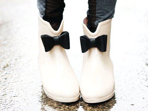 Rain boots, Rain and Cute rain boots on Pinterest