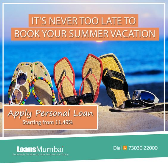It's never too late too book your summer vacation  #ApplyPersonalLoan http://bit.ly/1n73Pms  Starting from 11.49%*   #PersonalLoan,  #PersonalLoans,  #PersonalLoanMumbai, #PersonalLoanInMumbai