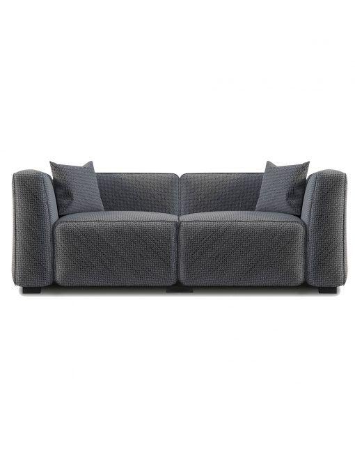 The Soft Cube Love Seat 2 Person Sofa Sofa Sofas For Small