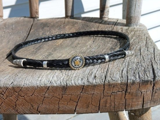 More artistry from Lame Horse Hollow Horse Hair Jewelry