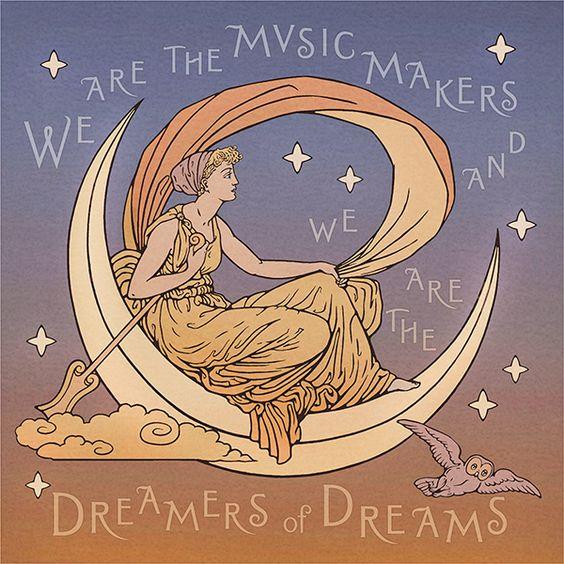 Dreamer Art Poster | Bradbury & Bradbury