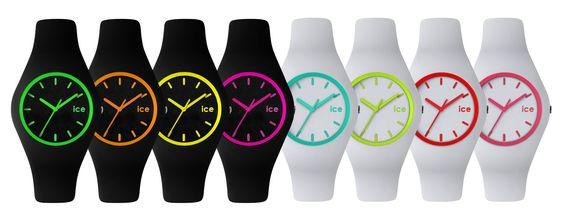 Los relojes de moda Ice-Watch