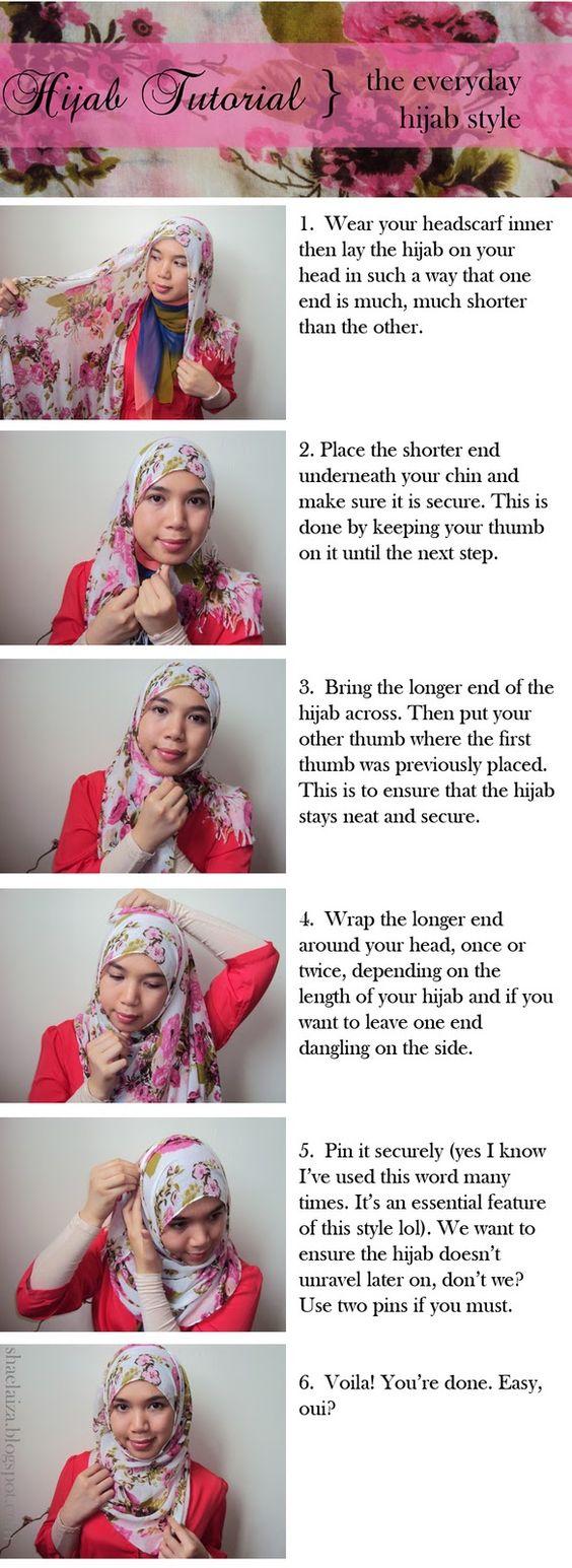 29 Gambar Menarik Tutorial Hijab Bahasa Inggris Paling Update