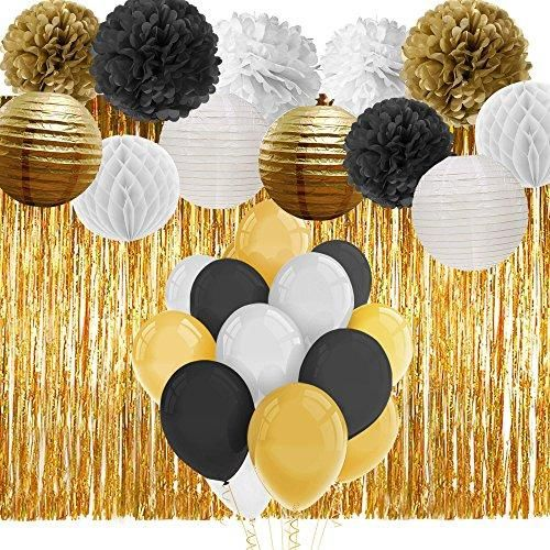 Brand Paxcoo Color Black Gold White Features Package Includes