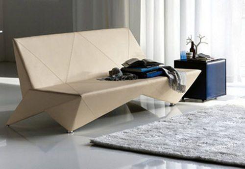 cattelan origami coole ideen modernes sofa design