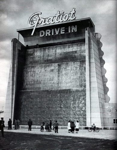 drive in theater in Mt. Clemens, MI.