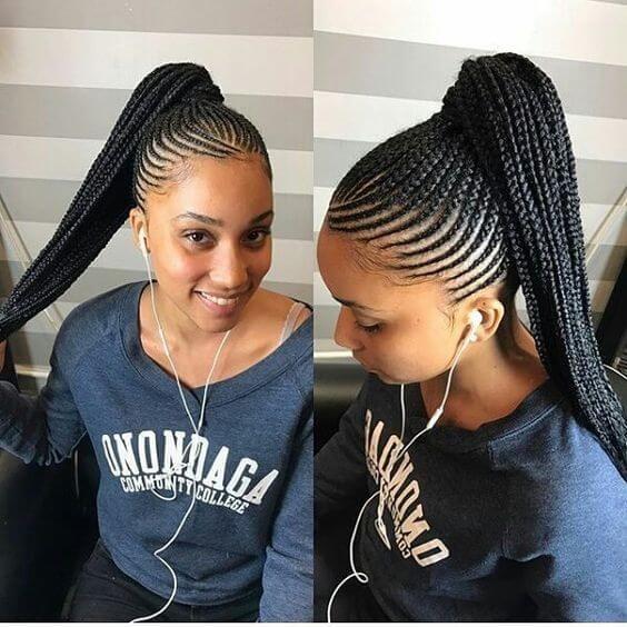 20 New Ghana Weaving Hairstyles For Ladies Braided Hairstyles For Black Women Cornrows Braids For Black Hair Braided Hairstyles Updo