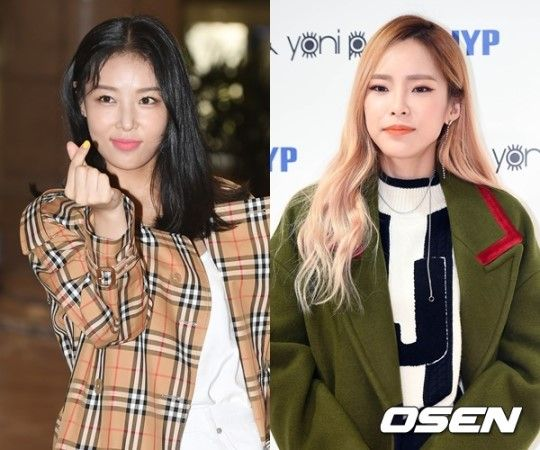Ask K Pop Yubin And Heize Will Be Appearing Together On An Upcoming Episode Of Let S Eat Dinner Together