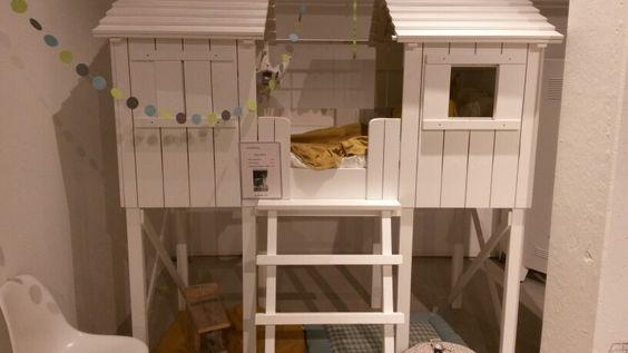 Kidsfactory boomhut halfhoogslaper € 1059 bij Babypark (onbehandeld € 736):
